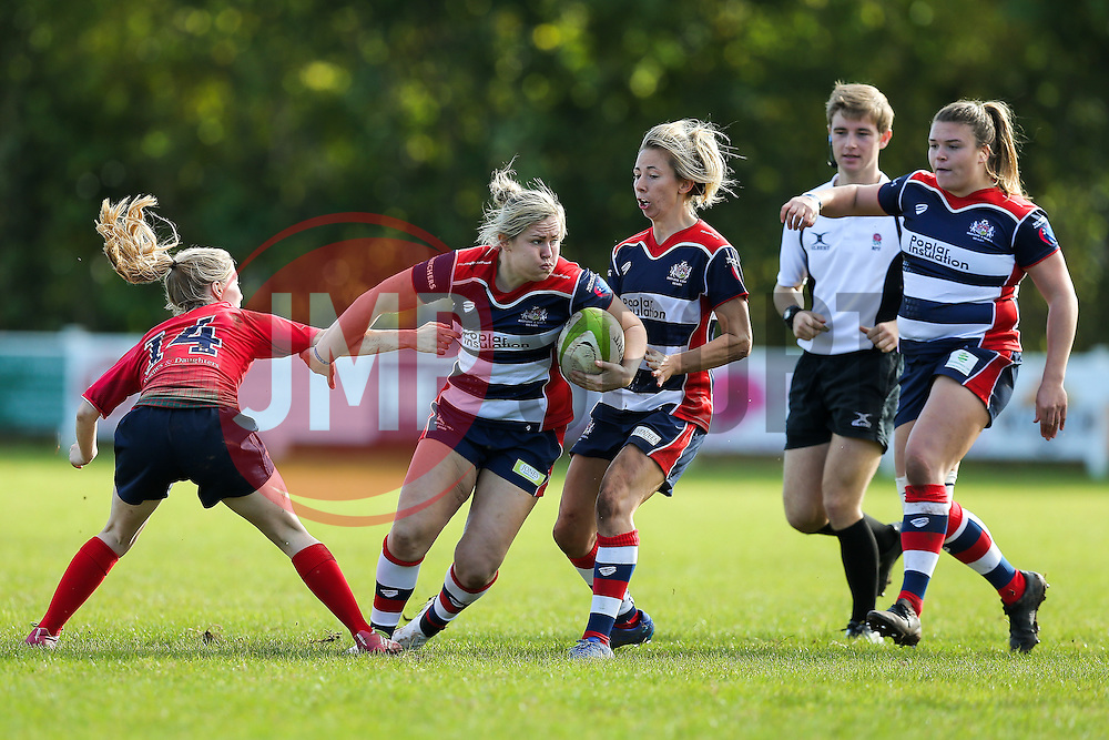 Marlie Packer of Bristol Ladies in action - Rogan Thomson/JMP - 16/10/2016 - RUGBY UNION - Cleve RFC - Bristol, England - Bristol Ladies Rugby v Lichfield Ladies - RFU Women's Premiership.