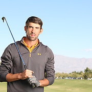 Michael Phelps at TPC Las Vegas in 2012.