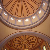 Cúpula interior de la Catedral Nuestra Señora del Carmen de Maturín, Estado Monagas, Venezuela