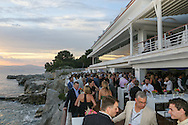 CAP D'ANTIBES, FRANCE - JUNE 23:  Guests attend a dinner party hosted by iHeartMedia and Medialink at Hotel du Cap-Eden-Roc in Antibes, France during the Cannes Lions Festival, featuring a special performance by Sting.  (Photo by Tony Barson/Getty Images for iHeartMedia)