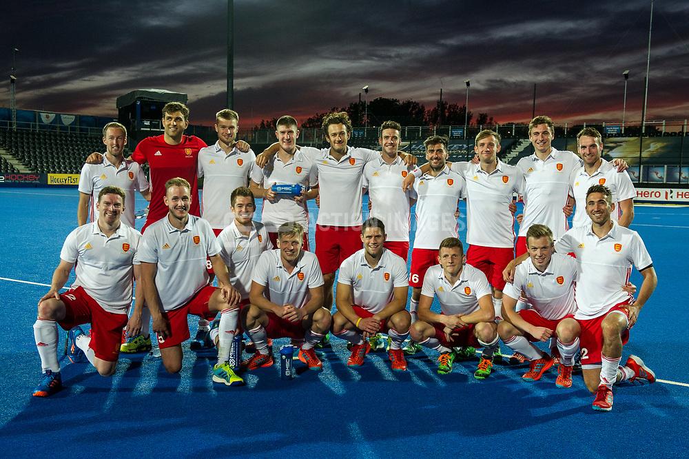 England. England v China - Hockey World League Semi Final, Lee Valley Hockey and Tennis Centre, London, United Kingdom on 15 June 2017. Photo: Simon Parker