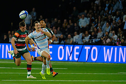 December 9, 2018 - Nanterre, Hauts de Seine, France - Racing 92 Wing JUAN IMHOFF in action during the rugby Champions Cup Day 3 between Racing 92 and Leicester at U Arena Stadium in Nanterre - France..Racing 92 Won 36-26. (Credit Image: © Pierre Stevenin/ZUMA Wire)