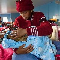Yamuna Kumari Shahi, 18 years old, suffering from PPH in Surkhet, Nepal