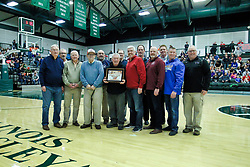 26 January 2019: Recognition of the IBCA Organization of they Year award during the McLean County Tournament at Shirk Center in Bloomington Illinois