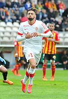 Joie Yannick FERREIRA CARRASCO - 26.04.2015 - Lens / Monaco - 34eme journee de Ligue 1<br />Photo : Nolwenn Le Gouic / Icon Sport