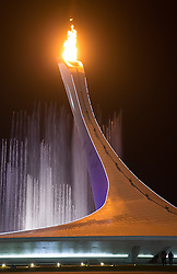 07.02.2014, Olympiastadion Fischt, Adler, RUS, Sochi 2014, Eröffnungsfeier der XXII. Olympischen Winterspiele, im Bild olympische Feuer // Olympic flame during the Opening Ceremony of the Olympic Winter Games Sochi 2014 at the Fisht Olympic Stadium in Adler, Russia on 2014/02/07. EXPA Pictures © 2014, PhotoCredit: EXPA/ Johann Groder