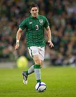 Fussball International, Nationalmannschaft   EURO 2012 Play Off, Qualifikation, Irland - Estland 15.11.2011 Stephen WARD (IRL)