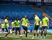 LUBLIN, POLEN 2017-06-18<br /> Pavel Cibicki under Sveriges U21 landslags tr&auml;ning p&aring; Arena Lublin den 18 juni, 2017.<br /> Foto: Nils Petter Nilsson/Ombrello<br /> Fri anv&auml;ndning f&ouml;r kunder som k&ouml;pt U21-paketet.<br /> Annars Betalbild.<br /> ***BETALBILD***