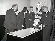 plastic Baths Launching Reception at Shelbourne Hotel 12-12-1958. Perspex Bath £20 Taps and Shower Head. Luxury plumbing 50s