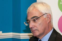 Better Together leader Alistair Darling visited Smart PA to mark the referendum countdown.  9 June 2014 (c) GER HARLEY | StockPix.eu