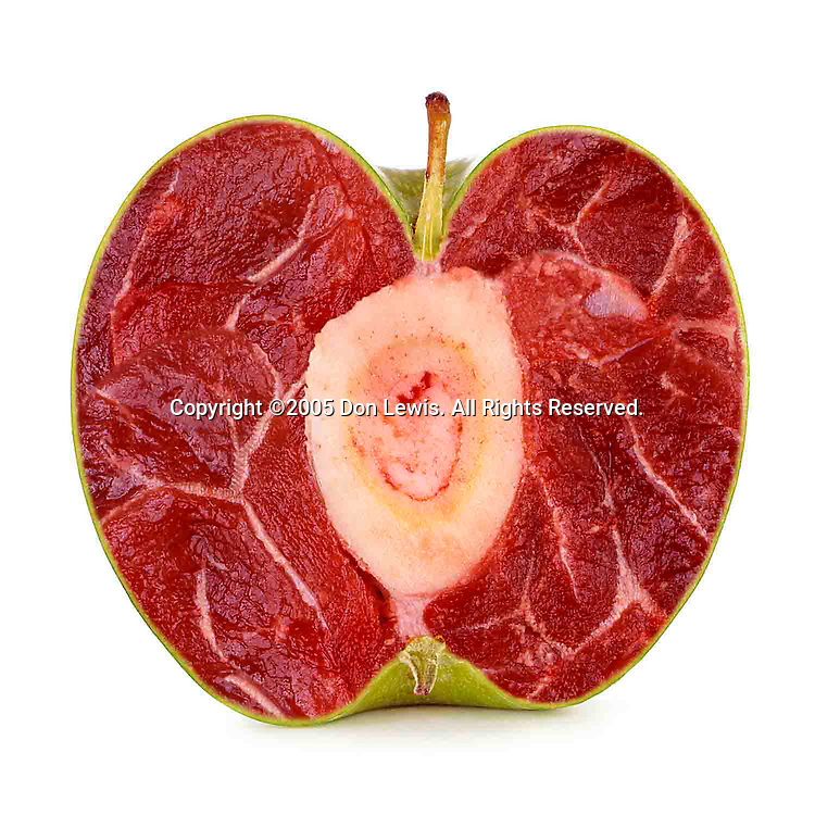 Meat apple