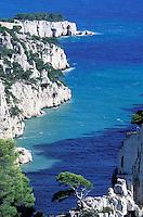 France - Bouche du Rhone - Calanques d'En Vau -   Cassis