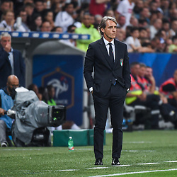 Roberto Mancini coach of Italy during the International Friendly match between France and Italy at Allianz Riviera Stadium on June 1, 2018 in Nice, France. (Photo by Anthony Dibon/Icon Sport)