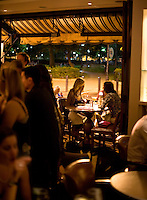 Rouge Restaurant is located on Rittenhouse Square in Philadelphia.