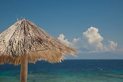 Central America, Honduras, Bay Islands, Utila, Utopia Village. PR