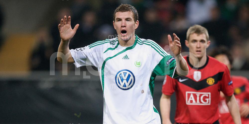 Fussball Uefa Champions League VFL Wolfsburg - Manchester United FC Edin DZEKO (Wolfsburg).