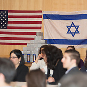 Welcoming of the incoming Consul General of Israel to New England, Yehuda Yaakov. Also, students take part in workshops and networking events. (Photo by Elan Kawesch/CJP)