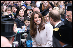 The Duchess of Cambridge arriving at the Senate House in Cambridge, Wednesday , 28th November 2012. .Photo by: Stephen Lock / i-Images