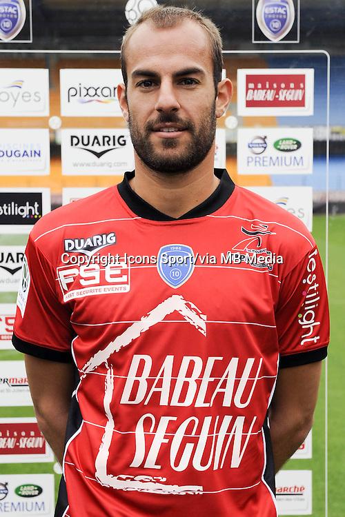 Matthieu DREYER - 11.09.2013 - Photo Officielle - Troyes<br /> Photo : Icon Sport