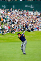 22 February 2009: Winner Phil Mickelson approaching 18th hole during the final round of the PGA Tour 2009 Northern Trust Open at The Riviera Country Club on Sunday in Los Angeles, CA.  This is lefty's 35th tour victory, he won one shot over Stricker at -15 under par.  63-72-62-72 = 269
