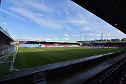 Scunthorpe United Glanford Park ground before the EFL Sky Bet League 1 match between Scunthorpe United and Plymouth Argyle at Glanford Park, Scunthorpe, England on 1 May 2018. Picture by Ian Lyall.