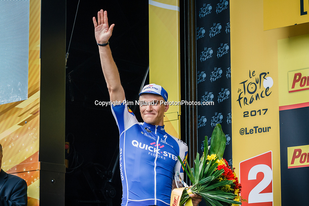 Stage 2 from Düsseldorf to  Liège (203.5 km) of the 104th Tour de France, 2 July 2017. Photo by Thomas van Bracht / PelotonPhotos.com | All photos usage must carry mandatory copyright credit (Peloton Photos | Thomas van Bracht)