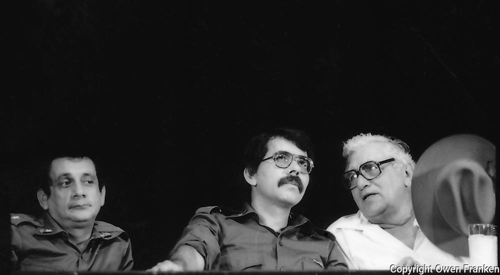 Nicaragua, Sandinista leaders-1980
