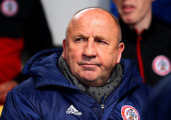 Accrington Stanley manager John Coleman - Mandatory by-line: Robbie Stephenson/JMP - 14/04/2018 - FOOTBALL - Wham Stadium - Accrington, England - Accrington Stanley v Exeter City - Sky Bet League Two