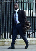 © Licensed to London News Pictures. 05/03/2013. Westminster, UK. Sam Gyimah MP and Parliamentary Private Secretary to the British Prime Minister David Cameron. Ministers arrive for a Cabinet Meeting at number 10 Downing Street on 5th March 2013. Photo credit : Stephen Simpson/LNP
