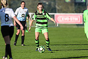 Forest Green Rovers Marika Niekowal(9) during the South West Womens Premier League match between Forest Greeen Rovers Ladies and Marine Academy Plymouth LFC at Slimbridge FC, United Kingdom on 5 November 2017. Photo by Shane Healey.