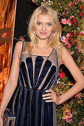 LILY DONALDSON at The Backstage Gala hosted by Diana Vishneva , Principal Dancer of the Mariinsky and American Ballet Theatre, and Natalia Vodianova in aid of The Naked Heart Foundation held at The London Coliseum, St.Martin's Lane, London on 17th April 2015.