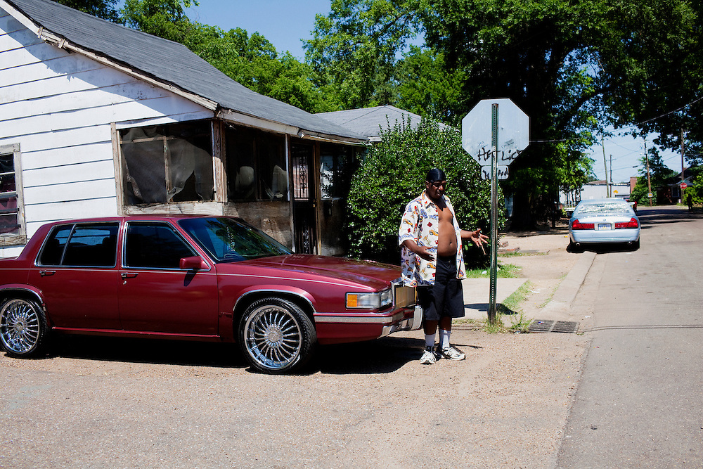 in Greenwood, Mississippi on May 27, 2011.