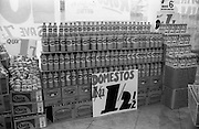 16/3/1966<br /> 3/16/1966<br /> 16 March 1966<br /> <br /> Domestos Display at Quinn Supermarket on Fingal St.