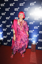 ZANDRA RHODES at the MontBlanc John Lennon Launch, The Serpentine Gallery, Kensington Gardens, London on 14th September 2010.