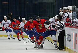 20.04.2016, Dom Sportova, Zagreb, CRO, IIHF WM, Rumaenien vs Kroatien, Division I, Gruppe B, im Bild Aktion // during the 2016 IIHF Ice Hockey World Championship, Division I, Group B, match between Romania and Croatia at the Dom Sportova in Zagreb, Croatia on 2016/04/20. EXPA Pictures © 2016, PhotoCredit: EXPA/ Pixsell/ Dalibor Urukalovic<br /> <br /> *****ATTENTION - for AUT, SLO, SUI, SWE, ITA, FRA only*****