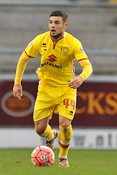 Jake Forster-Caskey   MK Dons, Cobblers, Northampton Town v MK Dons, FA Cup 3rd Round,  Sixfields Stadium, Saturday 9th January 2016