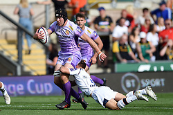 James McRae of Exeter Chiefs in action - Mandatory byline: Patrick Khachfe/JMP - 07966 386802 - 14/09/2019 - RUGBY UNION - Franklin's Gardens - Northampton, England - Premiership Rugby 7s (Day 2)