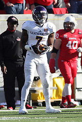 05 December 2015:  Lance Lenoir(7). NCAA FCS Round 2 Football Playoff game between Western Illinois Leathernecks and Illinois State Redbirds at Hancock Stadium in Normal IL (Photo by Alan Look)