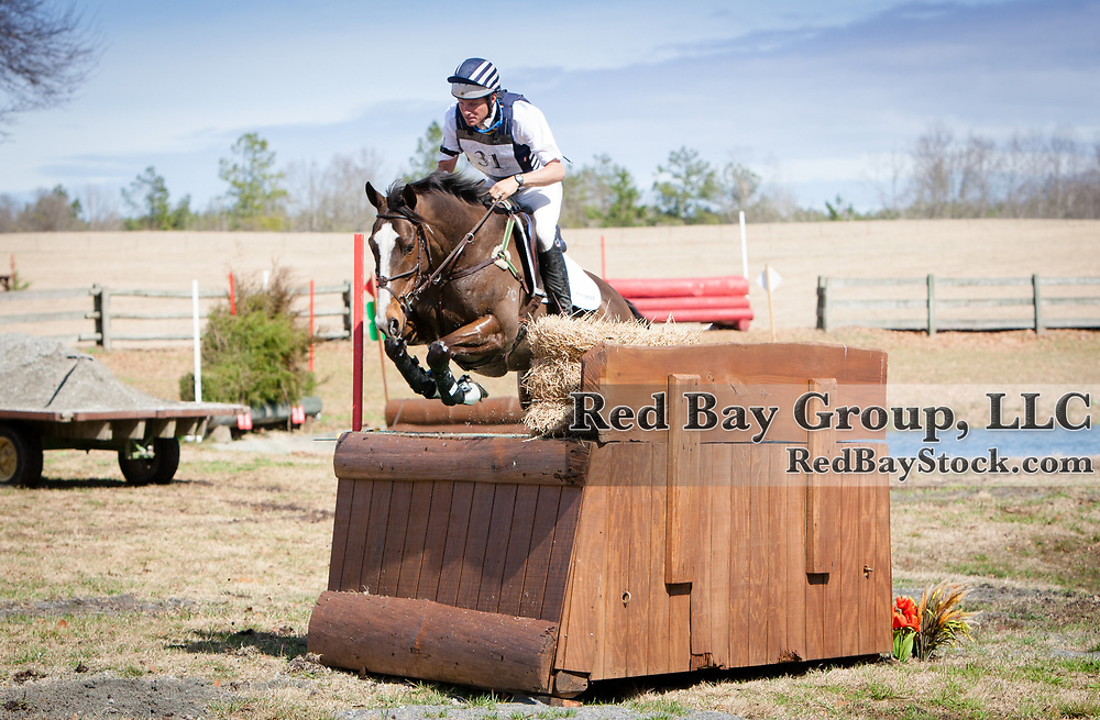 Boyd Martin and Steady Eddie at the 2014 Pine Top Farm Advanced Horse Trials in Thomson, Georgia.