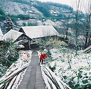 Vietnam Images-landscape-winter-nature-Sapa Hoàng thế Nhiệm