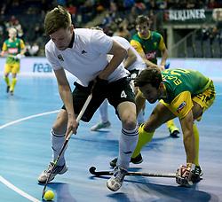 BERLIN - Indoor Hockey World Cup<br /> Men: Russia - South Africa<br /> foto: KURAEV Dmitrii.<br /> COPYRIGHT WILLEM VERNES