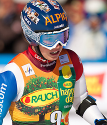 06.03.2011, Pista di Prampero, Tarvis, ITA, FIS Weltcup Ski Alpin, Abfahrt der Damen, im Bild Dominique Gisin (SUI, 31st. place)  during Ladie's Super-G FIS World Cup Alpin Ski in Tarvisio Italy on 6/3/2011. EXPA Pictures © 2011, PhotoCredit: EXPA/ G. Steinthaler