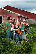 Longway Family, Dairy Farmers, Swanton, Vermont