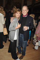 Actor JOHN STANDING and his wife SARAH at a party to celebrate the publication of 'Seven Secrets of Successful Parenting' by Karen Doherty and Georgia Coleridge, held at Chelsea Town Hall, King's Road, London on 28th April 2008.<br />