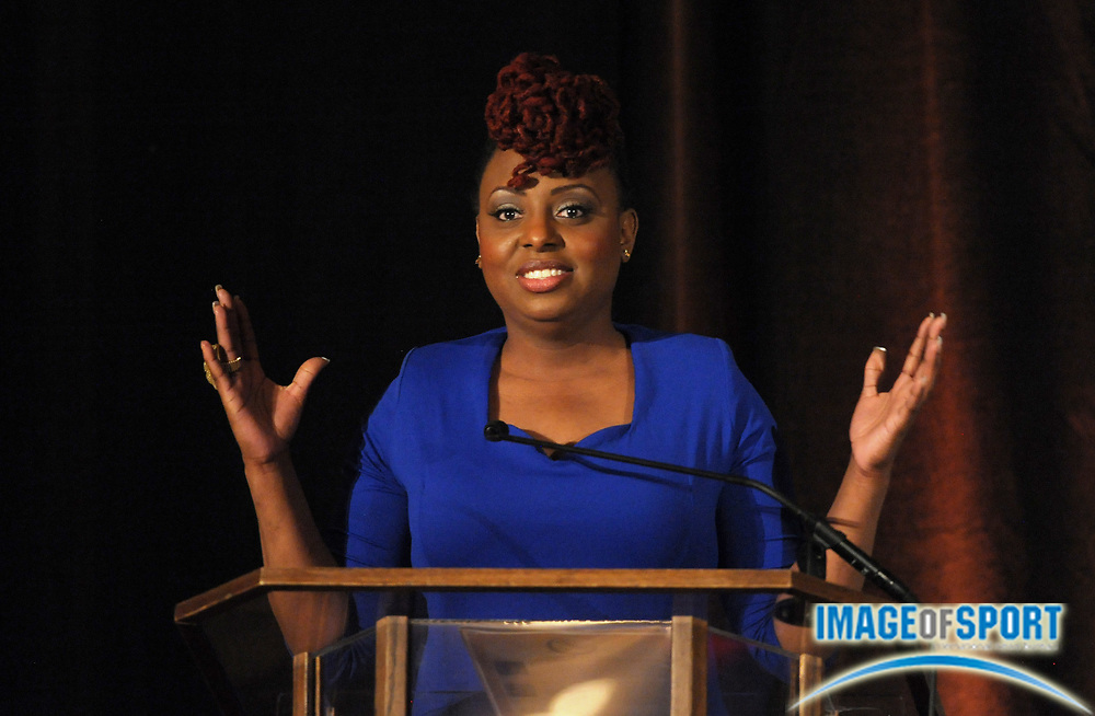Mar 30, 2012; Austin, TX, USA; Recording artist Ledisi at the 6th annual Minority Mentorship Symposium at the AT&T Executive Education and Conference Center.