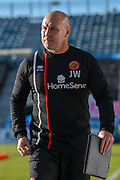 Walsall manager Jon Whitney during the EFL Sky Bet League 1 match between Gillingham and Walsall at the MEMS Priestfield Stadium, Gillingham, England on 17 February 2018. Picture by Martin Cole.
