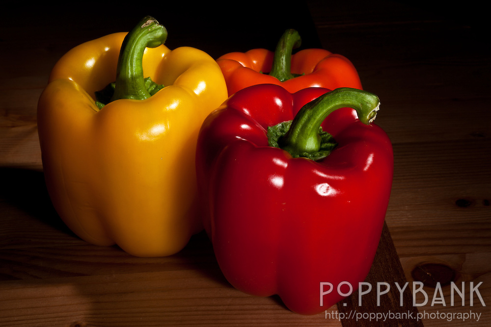 Peppers of many colors