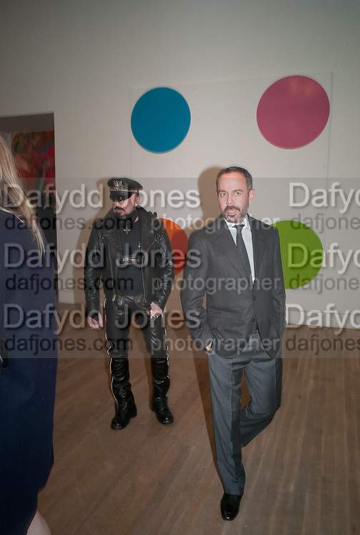 PETER MARINO, Damien Hirst, Tate Modern: dinner. 2 April 2012.