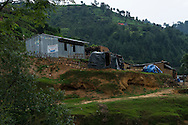 The SOS Children's Villages Child Care Space sits on top of a hill in Rayale, Nepal on 1 July 2015. The roads to Rayale have just been cleared again after multiple landslides cut it off. The monsoon is causing mudslides and aftershocks still occasionally happen. The April 25th earthquake together with big aftershocks on April 26 and May 12 killed over 8000 people and injured over 19000 people, destroying over half a million houses. Photo by Suzanne Lee for SOS Children's Villages