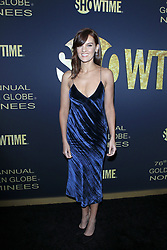 January 5, 2019 - West Hollywood, CA, USA - LOS ANGELES - JAN 5:  Frankie Shaw at the Showtime Golden Globe Nominees Celebration at the Sunset Tower Hotel on January 5, 2019 in West Hollywood, CA (Credit Image: © Kay Blake/ZUMA Wire)
